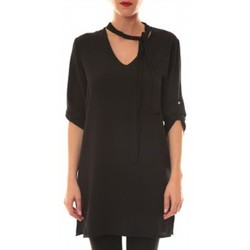 Textiel Dames Korte jurken La Vitrine De La Mode Robe 156 By La Vitrine Noire Zwart