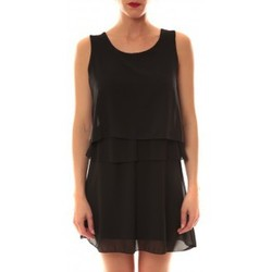 Textiel Dames Korte jurken La Vitrine De La Mode Robe TROIS By La Vitrine Noire Zwart