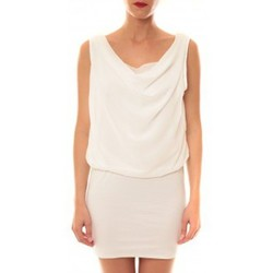 Textiel Dames Korte jurken La Vitrine De La Mode Robe 157 By La Vitrine Blanc Wit