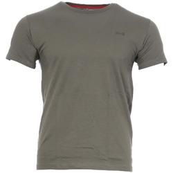 Textiel Heren T-shirts korte mouwen Schott  Groen