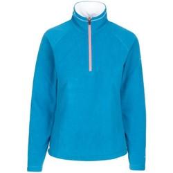Textiel Dames Fleece Trespass Skylar Kosmisch Blauw