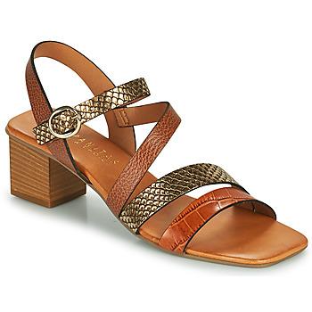 Schoenen Dames Sandalen / Open schoenen Hispanitas OLGA Bruin / Brons