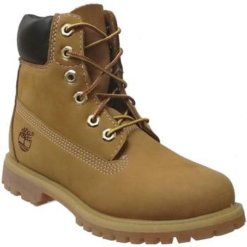 Schoenen Dames Laarzen Timberland 10361 Nubuck geel
