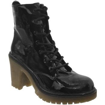 Schoenen Dames Enkellaarzen Coolway MISHA Zwart gelak