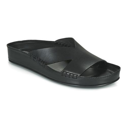 Schoenen Heren Leren slippers Kenzo OPANKA Zwart