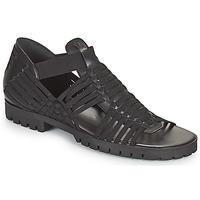Schoenen Dames Sandalen / Open schoenen Kenzo GREEK FLAT SANDALS Zwart