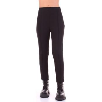 Textiel Dames Pantalons Sandro Ferrone C18-DONATO Nero