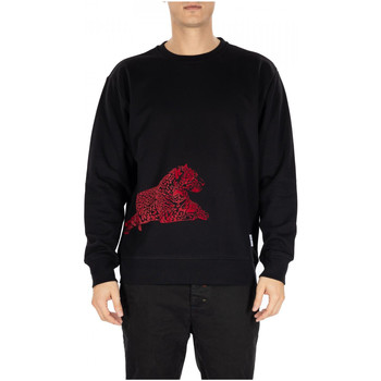 Textiel Heren Sweaters / Sweatshirts Department Five FELPA WOLK LEO nero-rosso