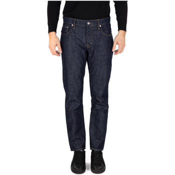Textiel Heren Straight jeans Department Five PANTALONE CORKEY blu
