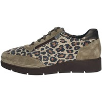 Schoenen Dames Derby Riposella IC-121 Brown Taupe