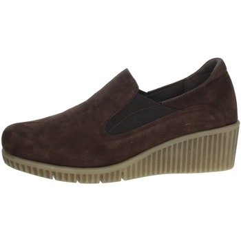 Schoenen Dames Mocassins Riposella IC-103 Brown
