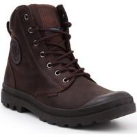Schoenen Hoge sneakers Palladium Manufacture Pampa Cuff WP LUX 73231-249-M brown