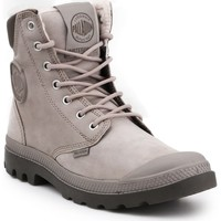 Schoenen Hoge sneakers Palladium Manufacture Pampa Sport Cuff WPS 72992-070-M grey