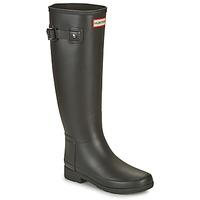 Schoenen Dames Regenlaarzen Hunter ORIGINAL REFINED Zwart