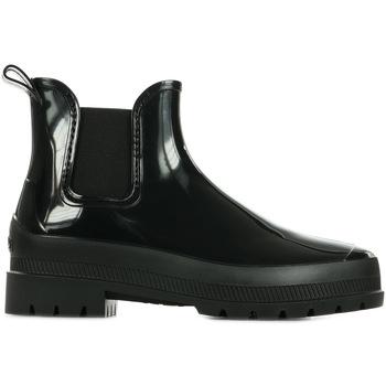 Schoenen Dames Laarzen Pataugas Rainbow F4F Zwart