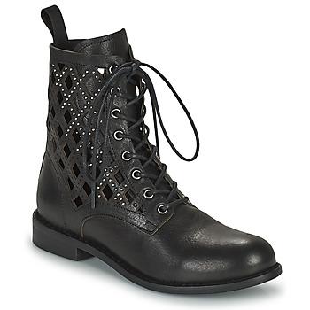 Schoenen Dames Laarzen Mimmu MONTONE NEROA Zwart
