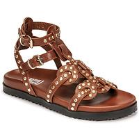 Schoenen Dames Sandalen / Open schoenen Mimmu VITELLO-CUOIO Bruin