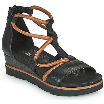 Schoenen Dames Sandalen / Open schoenen Mjus TAPASITA Zwart / Camel