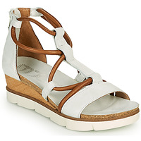 Schoenen Dames Sandalen / Open schoenen Mjus TAPASITA Wit / Camel
