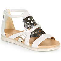 Schoenen Dames Sandalen / Open schoenen Mjus KETTA Wit / Zilver