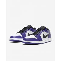 Schoenen Lage sneakers Nike Air Jordan 1 Low Court Purple Court Purple/White-Black