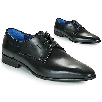 Schoenen Heren Derby Azzaro VILLAGE Zwart