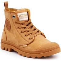 Schoenen Dames Hoge sneakers Palladium Pampa HI ZIP NBK 96440-717-M brown