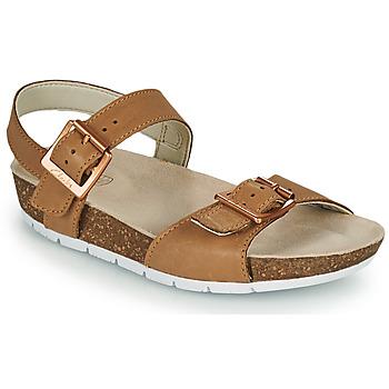 Schoenen Kinderen Sandalen / Open schoenen Clarks RIVER SAND K Camel