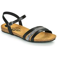 Schoenen Dames Sandalen / Open schoenen Plakton MAM ALOU Zwart