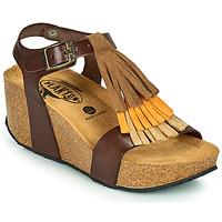 Schoenen Dames Sandalen / Open schoenen Plakton SO TONKA Bruin
