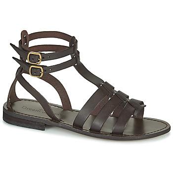 Schoenen Dames Sandalen / Open schoenen Dream in Green OBELLA Bruin