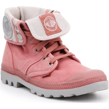 Schoenen Dames Hoge sneakers Palladium Pallabrouse Baggy 92478635 pink