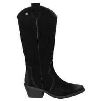 Schoenen Dames Hoge laarzen Top3 BOTAS  20828 MODA JOVEN NEGRO Noir