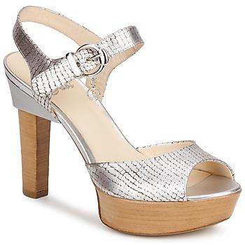 Schoenen Dames Sandalen / Open schoenen Fabi KAITE Zilver