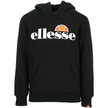 Textiel Kinderen Sweaters / Sweatshirts Ellesse Isobel Hoody Kids Zwart