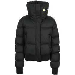 Textiel Dames Dons gevoerde jassen Champion Jacket Zwart