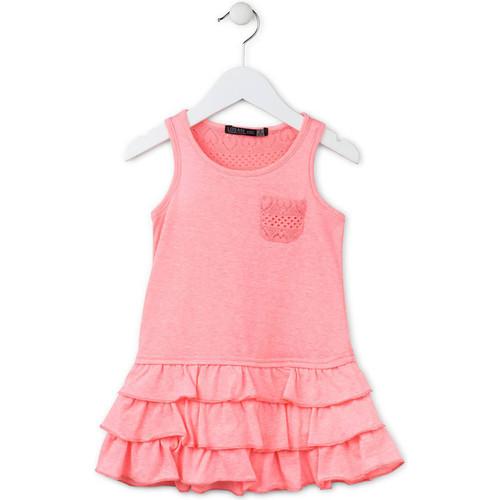 Textiel Meisjes Korte jurken Losan 716 7009AD Roze