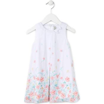 Textiel Meisjes Korte jurken Losan 716 7784AD Wit