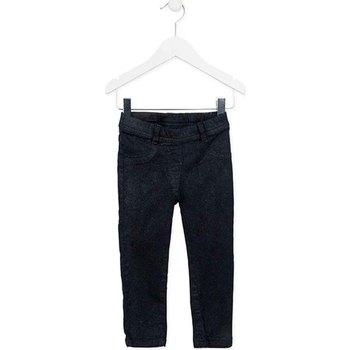 Textiel Meisjes 5 zakken broeken Losan 726 9000AD Blauw