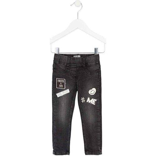 Textiel Meisjes Skinny jeans Losan 726 6032AD Zwart