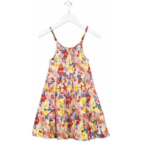 Textiel Meisjes Korte jurken Losan 814-7028AB Oranje