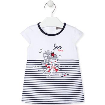 Textiel Meisjes Korte jurken Losan 018-7000AL Blauw