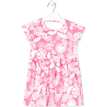 Textiel Meisjes Korte jurken Losan 018-7042AL Roze
