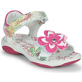 Schoenen Meisjes Sandalen / Open schoenen Primigi SARAH Wit / Multi