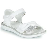 Schoenen Meisjes Sandalen / Open schoenen Primigi LOLA Wit / Zilver