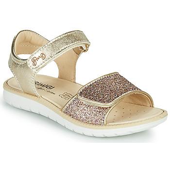 Schoenen Meisjes Sandalen / Open schoenen Primigi CYRIELLE Goud