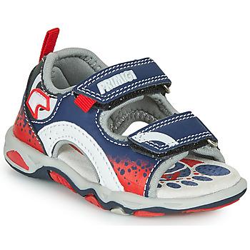 Schoenen Jongens Sandalen / Open schoenen Primigi FRANG Marine / Rood