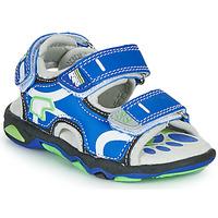 Schoenen Jongens Sandalen / Open schoenen Primigi YANIS Blauw / Groen