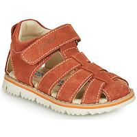Schoenen Jongens Sandalen / Open schoenen Primigi KANNI Bruin