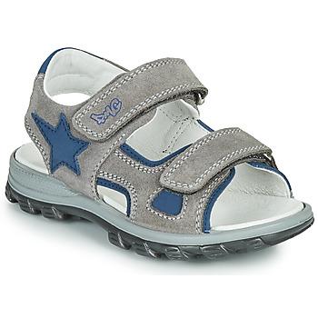 Schoenen Jongens Sandalen / Open schoenen Primigi GRIMMI Grijs / Blauw